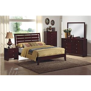 Crown Mark Evan Queen Bedroom Group