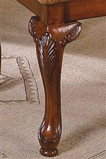 Subtle curves and ornate detail offer sophisticated designs