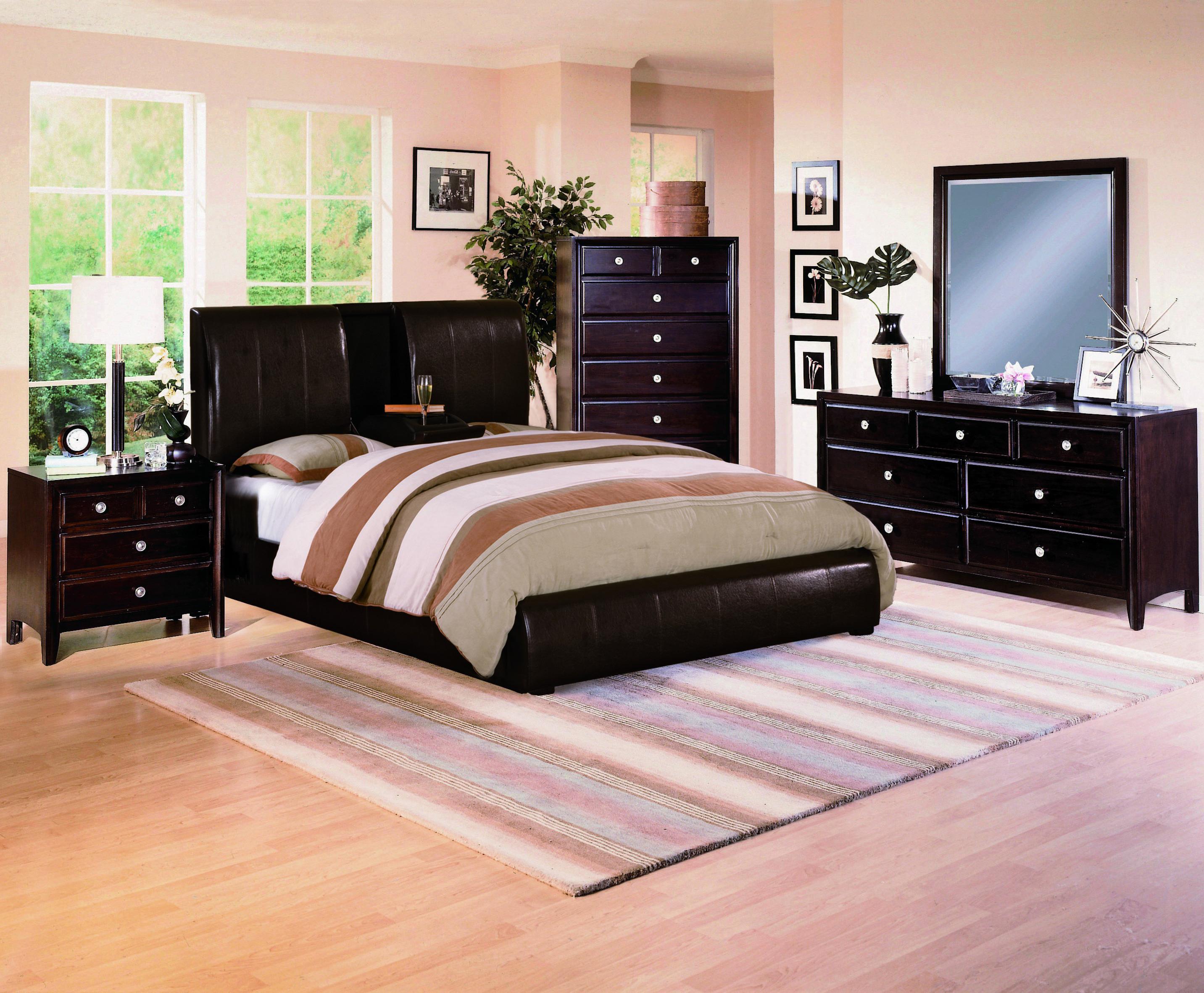 Crown Mark Flynn Queen Bedroom Group - Item Number: 6200 Queen Bedroom Group 1