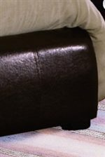 Low Profile Upholstered Footboard