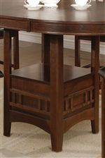 Pedestal Table Shelves