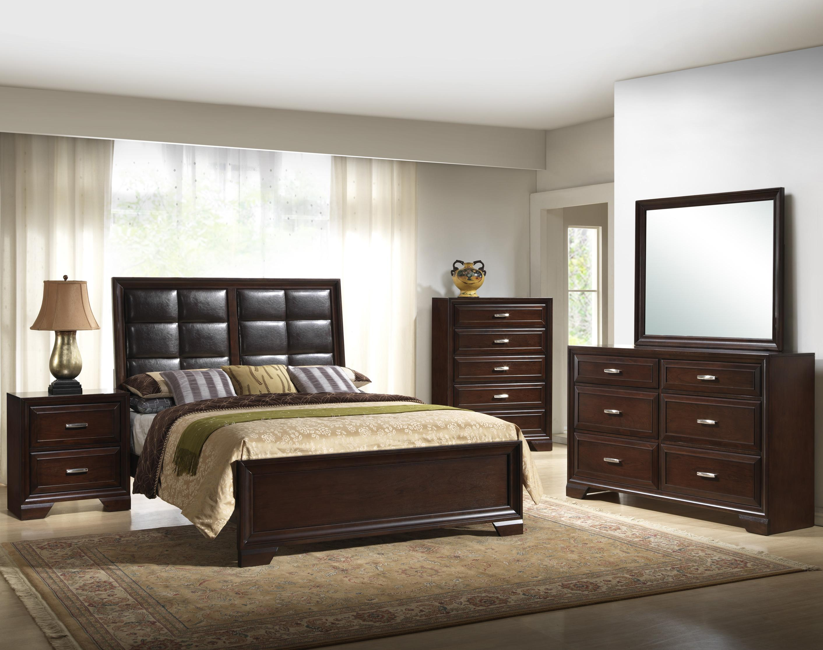 Crown Mark Jacob King Bedroom Group - Item Number: B6510 King Bedroom Group 1