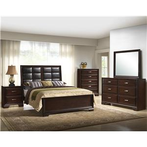 Crown Mark Jacob Queen Bedroom Group 1