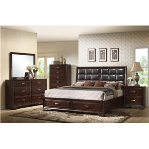 Crown Mark Jacob Queen Bedroom Group 2