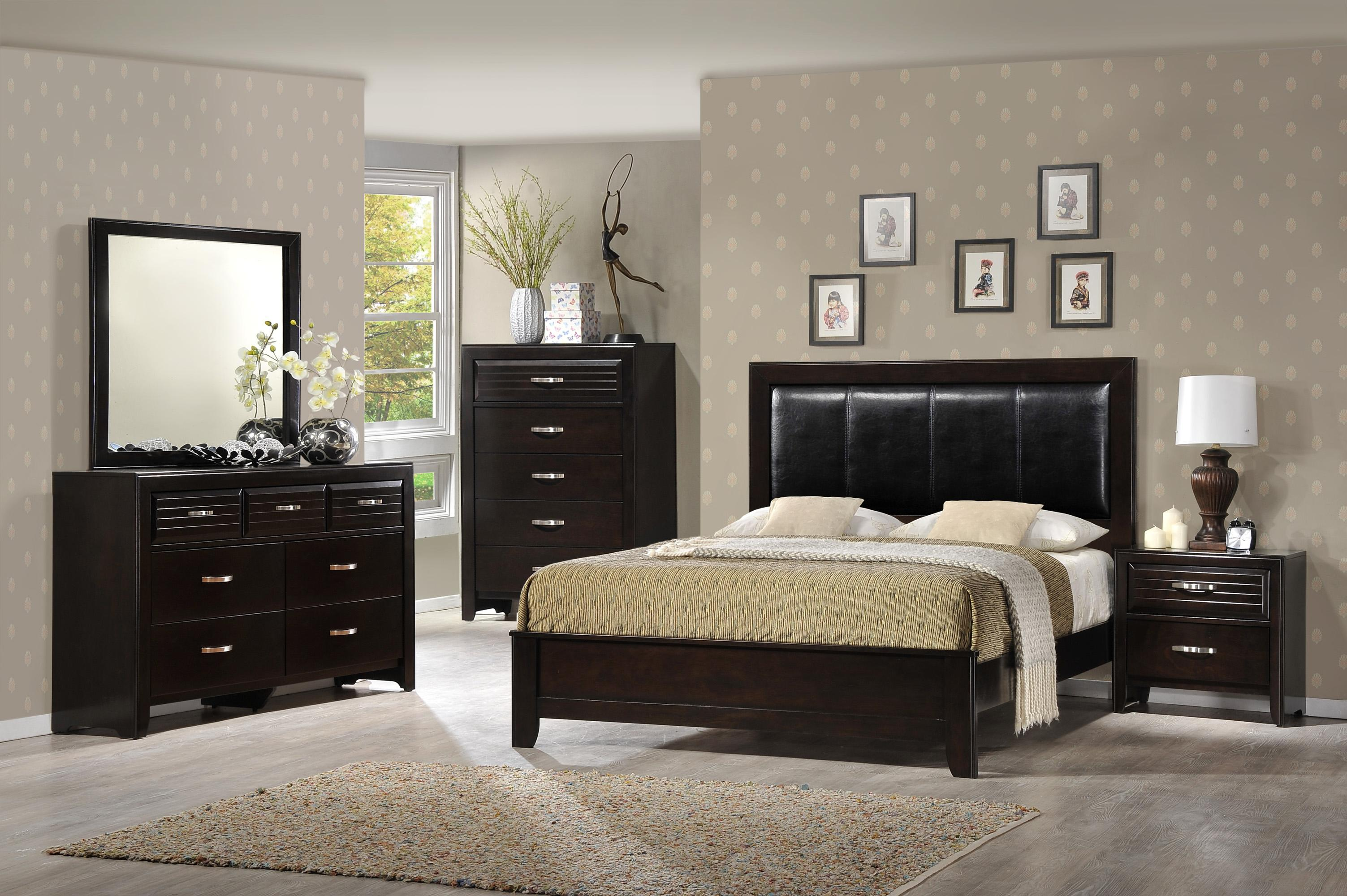 Crown Mark Jocelyn King Bedroom Group - Item Number: B7400 K Bedroom Group 1