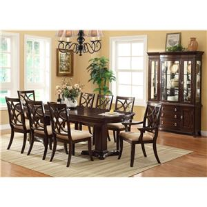 Crown Mark Katherine Formal Dining Room Group