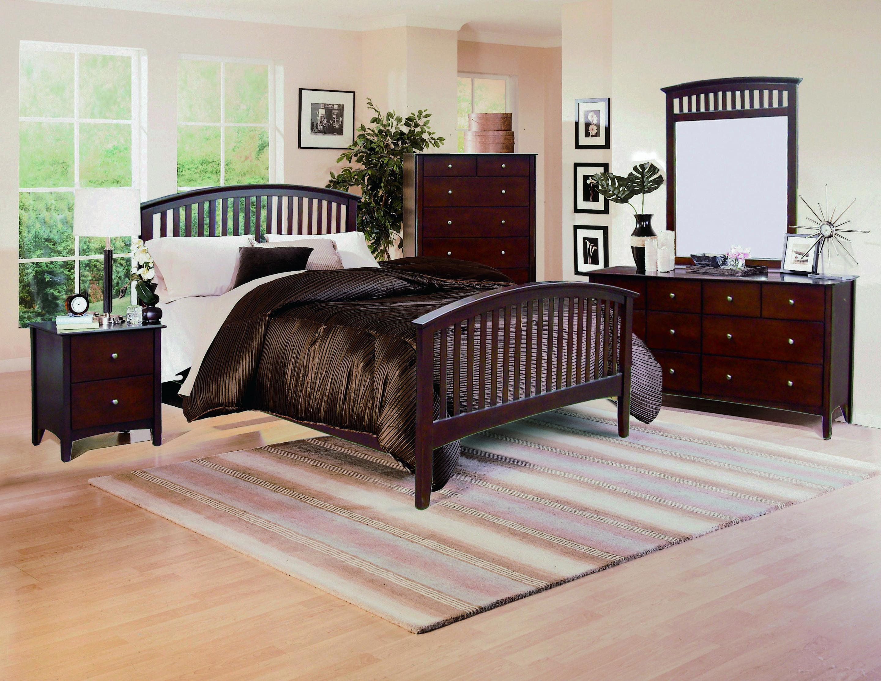 Crown Mark Lawson  Queen Bedroom Group - Item Number: B7550 Queen Bedroom Group 1