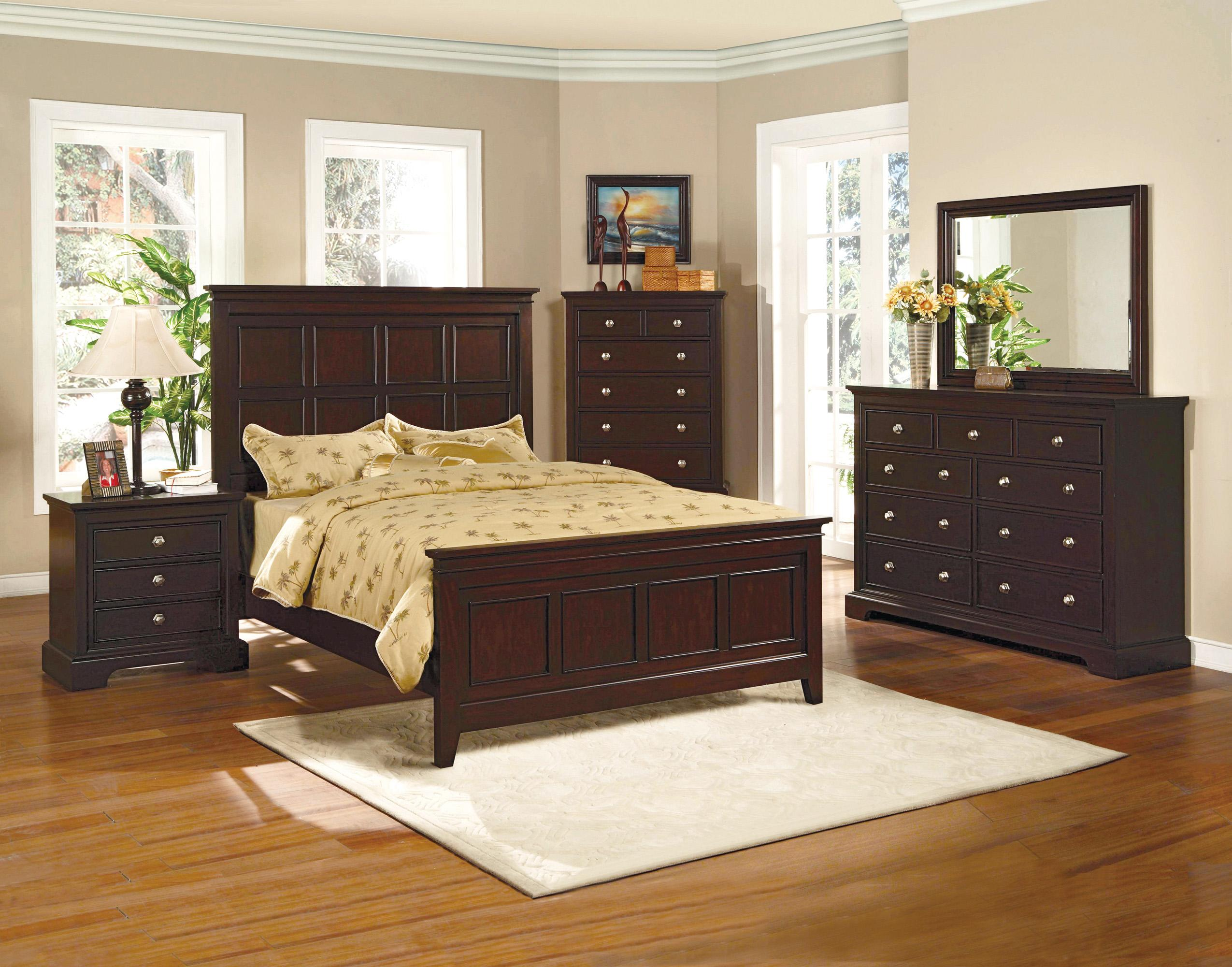 Crown Mark London King Bedroom Group - Item Number: B6750 King Bedroom Group 1