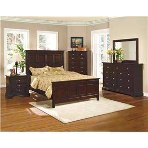 Crown Mark London Queen Bedroom Group