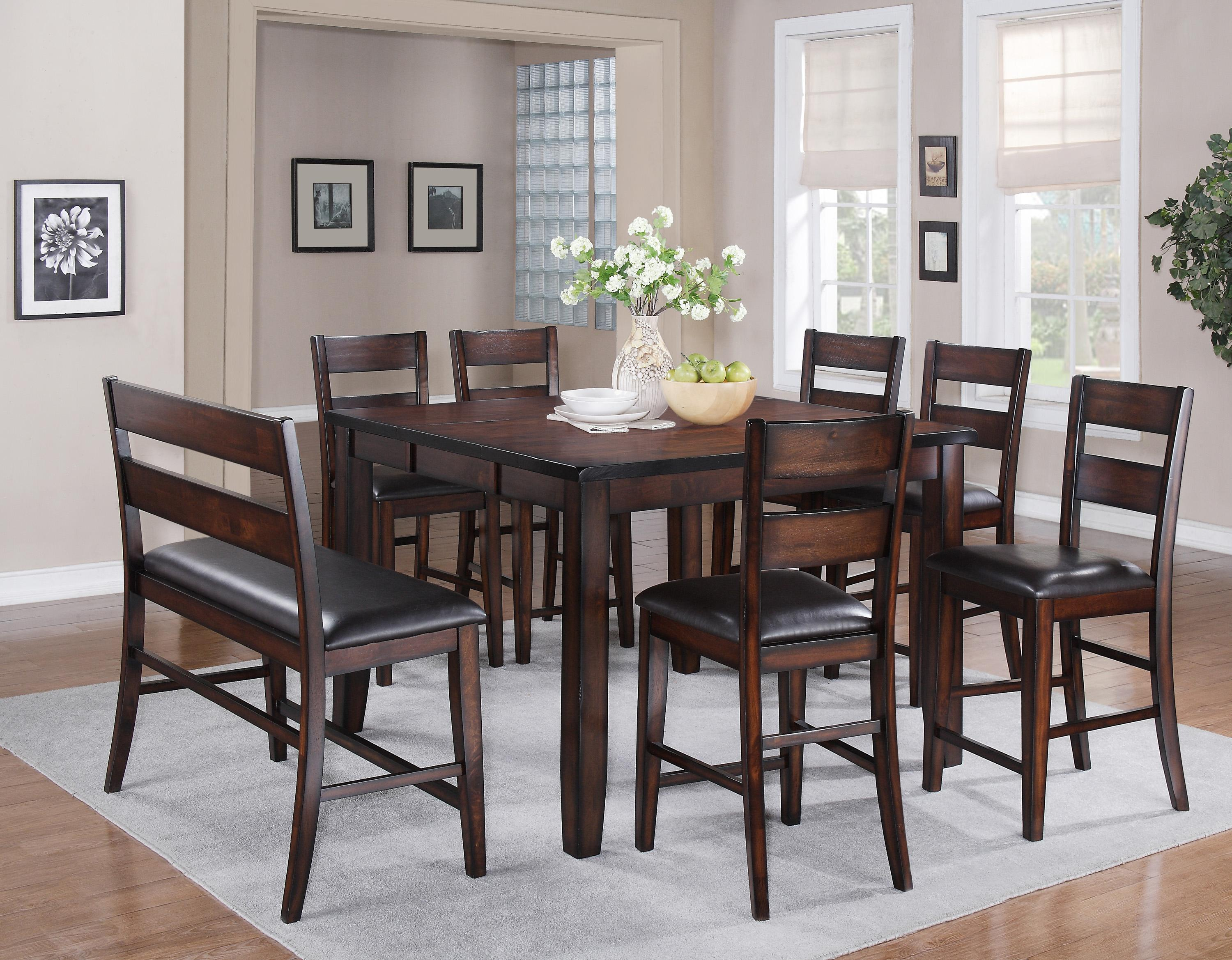 Crown Mark Maldives Counter Height Table Lindys Furniture - Counter height dining table with leaf