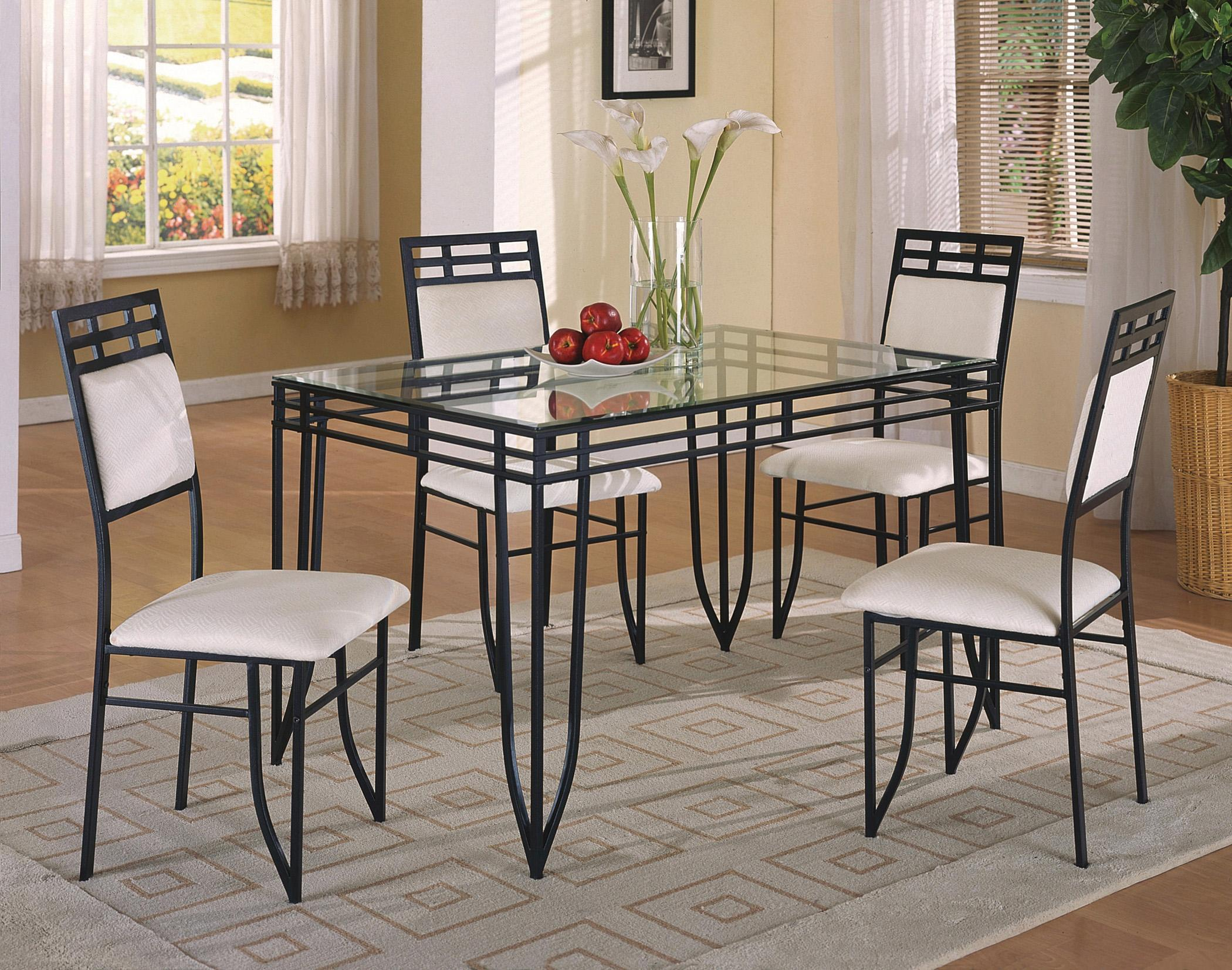 crown mark matrix 5 piece dinette set item number