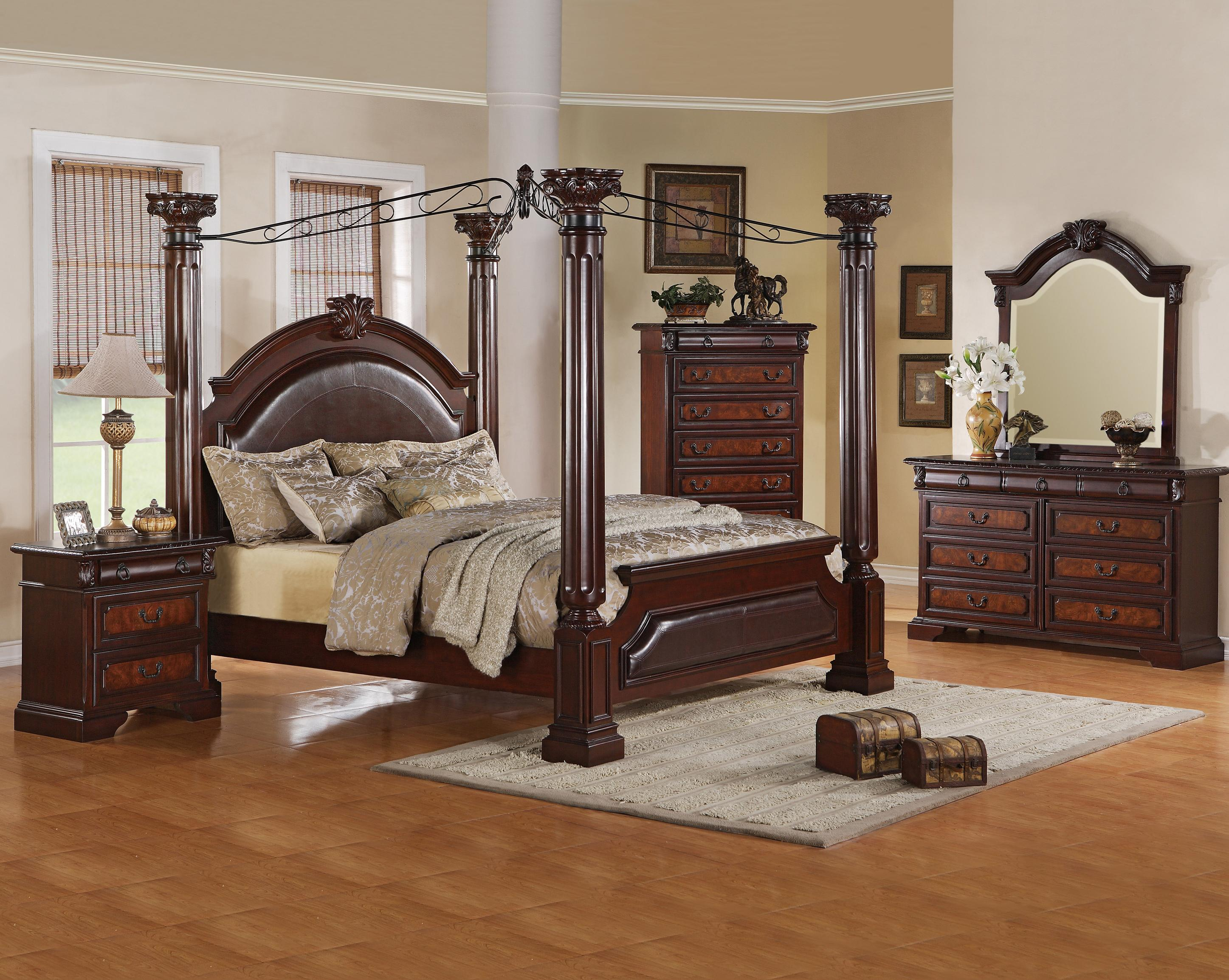 Crown Mark Neo Renaissance Cal King Bedroom Group - Item Number: B1470 Cal King Bedroom Group 1