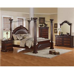 Crown Mark Neo Renaissance King Bedroom Group