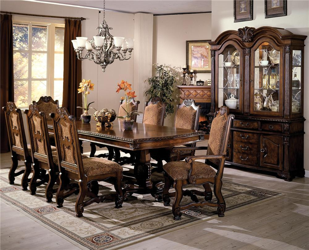 Neo Renaissance Formal Dining Room Group by Crown Mark at Royal Furniture