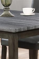 Two Tone table with weathered grey table top