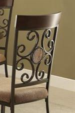 Scroll Motif and Circular Detail on Chair