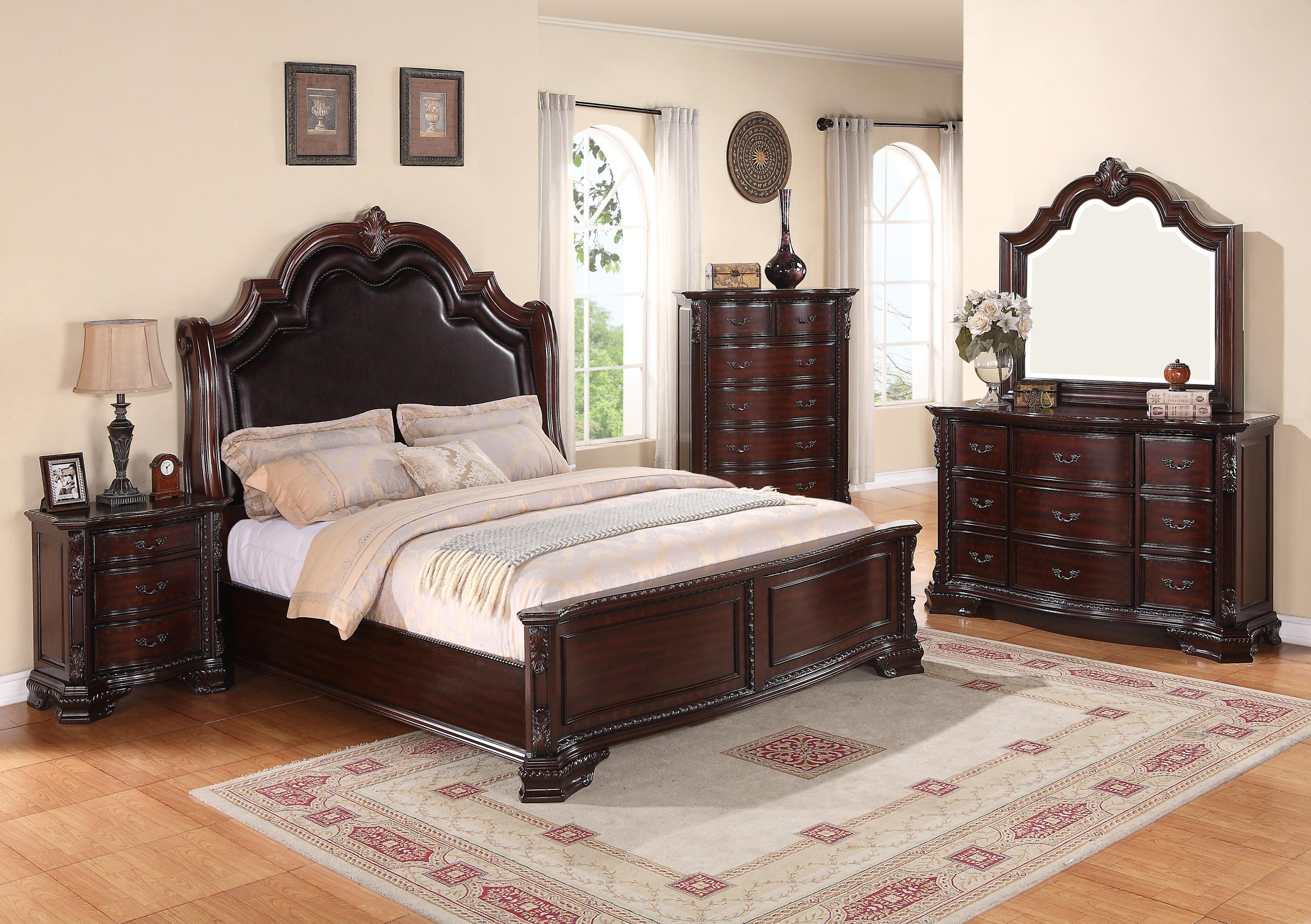 Crown Mark Sheffield King Bedroom Group - Item Number: B11 King Bedroom Group 1