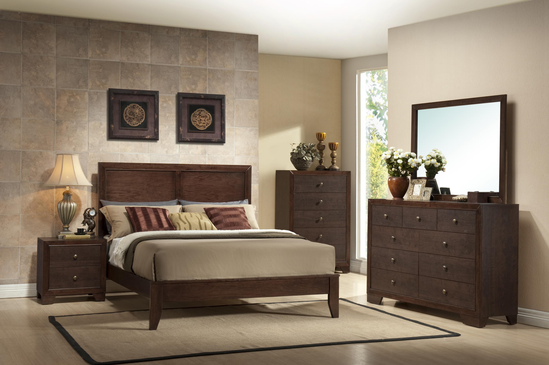 Crown Mark Silvia Queen Bedroom Group - Item Number: B4600 Queen Bedroom Group 1