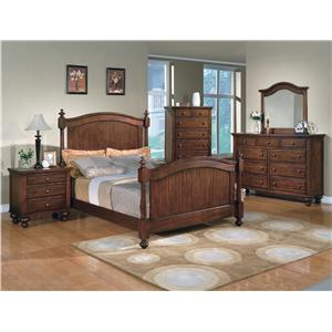 Crown Mark Sommer Queen Bedroom Group