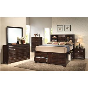 Crown Mark Stella Media Chest with 2 Drawers
