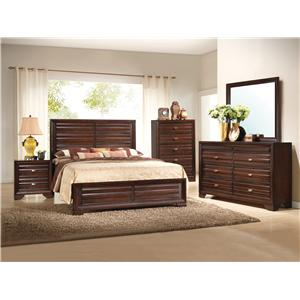 Crown Mark Stella King Bedroom Group
