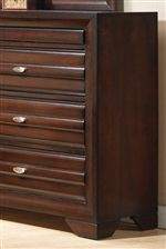 Drawer Fronts Feature Ribbed Panel Fronts for a Textured Look & Feel