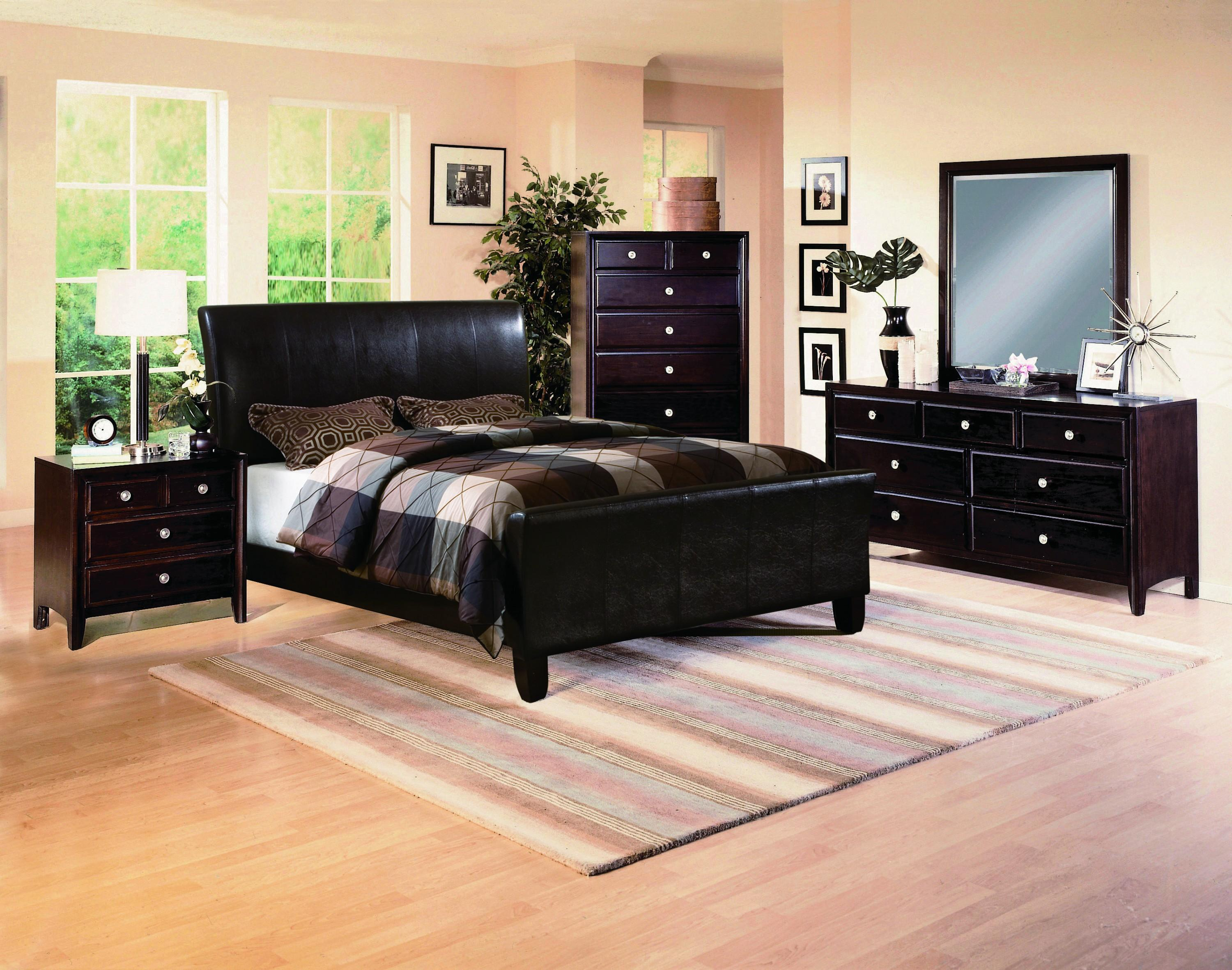 Crown Mark Tomas Queen Bedroom Group - Item Number: B6275 Queen Bedroom Group 1