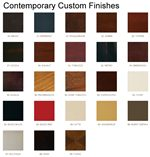 25 Contemporary Custom Finishes Available