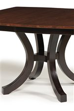 Pedestal Table Base (Two-Tone Finish Upgrade Available)
