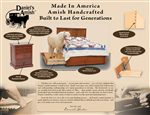 Made in America, Amish Handcrafted, Built to Last for Generations