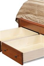 Two Footboard Drawers