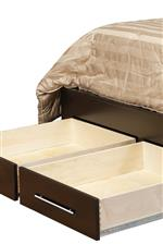 Some Bed Models Feature Footboard Drawers