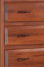 Beveled Drawer Fronts