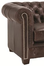 Traditional Styling with an Abundance of Accents Creates Embellished Elegance for Living Room Displays