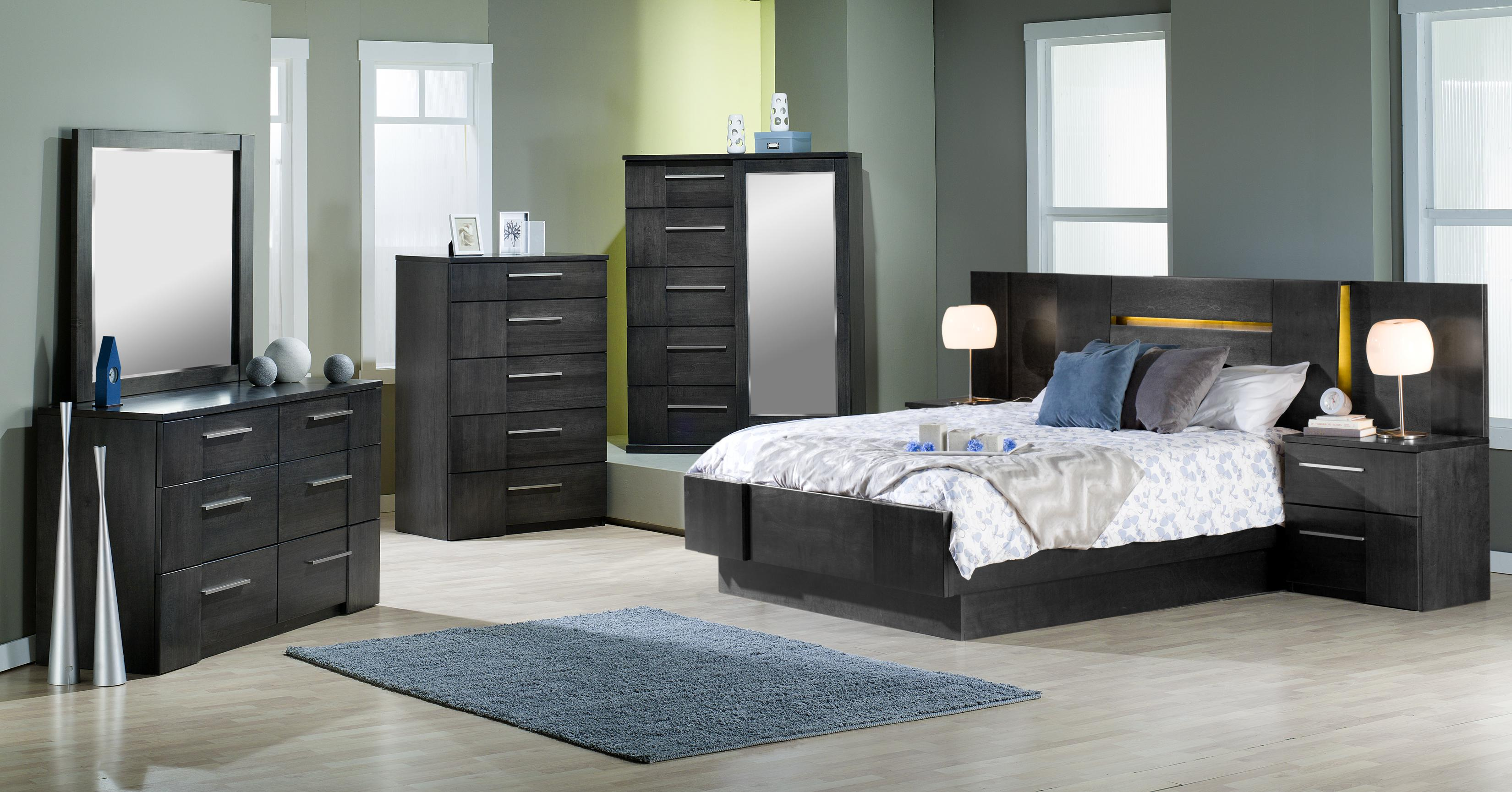 Milano Queen Bedroom Group by Defehr at Stoney Creek Furniture
