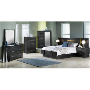 Defehr Milano Queen Bedroom Group