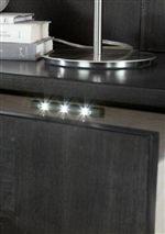 Sensor Lights in Top Drawer of Nightstand