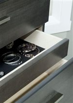 Select Pieces Feature Hidden Felt Lined Drawers