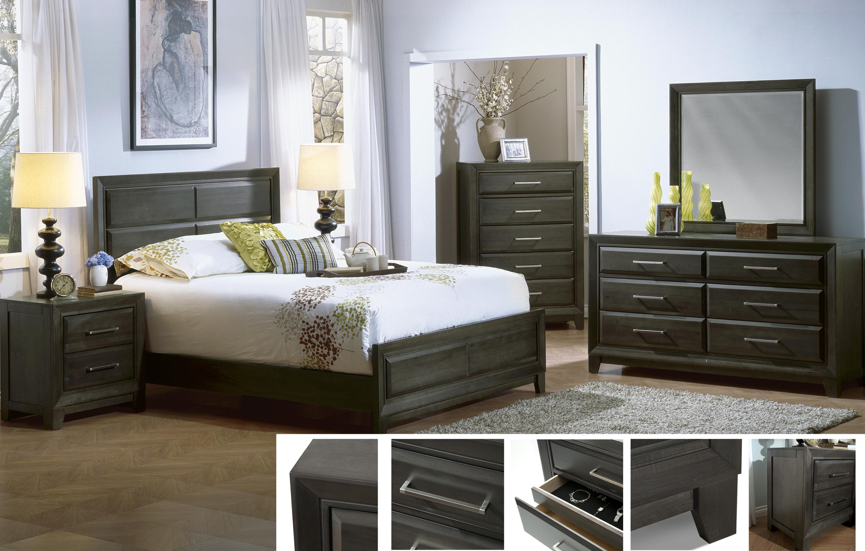 Defehr Verona King Bed | Stoney Creek Furniture | Panel Beds ...