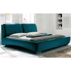 Diamond Sofa Bedroom DS Sleek Contemporary King Bed