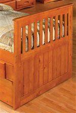 Rustic, Mission Style Wood Slats
