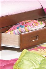 Beds Feature Convenient Storage Drawer and Trundle Options