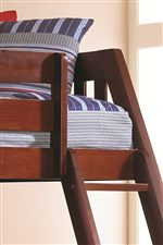 Bunk Beds Put Safety First with Sturdy Guard Rails and Ladders
