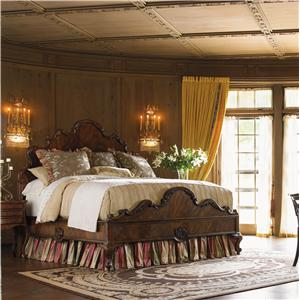 Drexel Heritage® At Home in Belle Maison Queen Lit De Ribbon