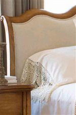 Sleigh Headboard with Optional Upholstered Panel