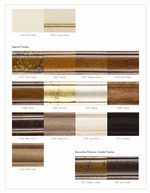 Specialty Finishes Offered at Additional Cost