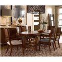 Drexel Heritage® Renderings Formal Dining Room Group - Item Number: 590 F Dining Room Group 1