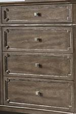 Inset Case Fronts in a Classic Shape Add Distinction and Heritage to This Design