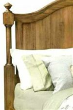 Decorative Spindles Match with Paneled Accents for a Classic Look with Timeless Cottage Style