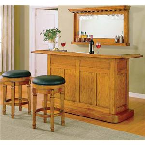 E.C.I. Furniture Nova Classic Bar with Drawer and Door Storage